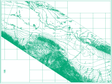 The contour map of the water table in the middle region in Heihe basin (2005-2007)