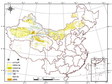 1:100,000 desert (sand) distribution dataset in China