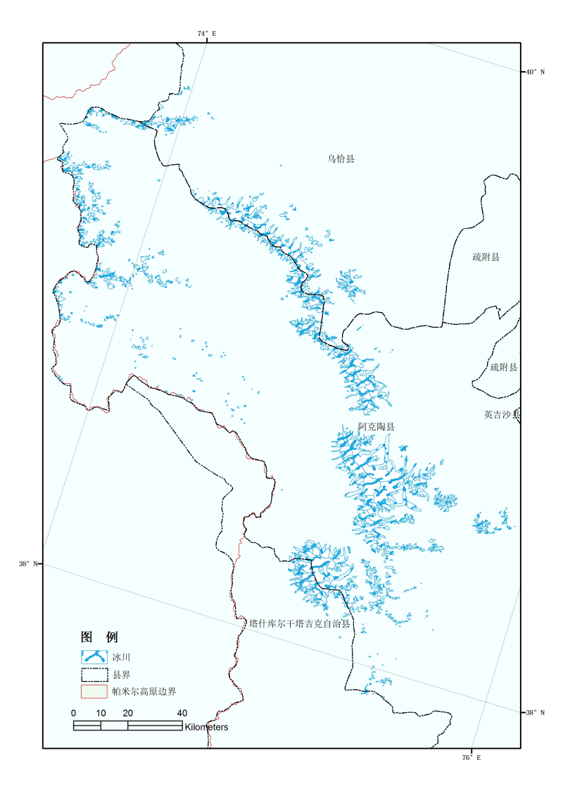The second glacier inventory dataset of Pamirs , China (Version 1.0) (2009)