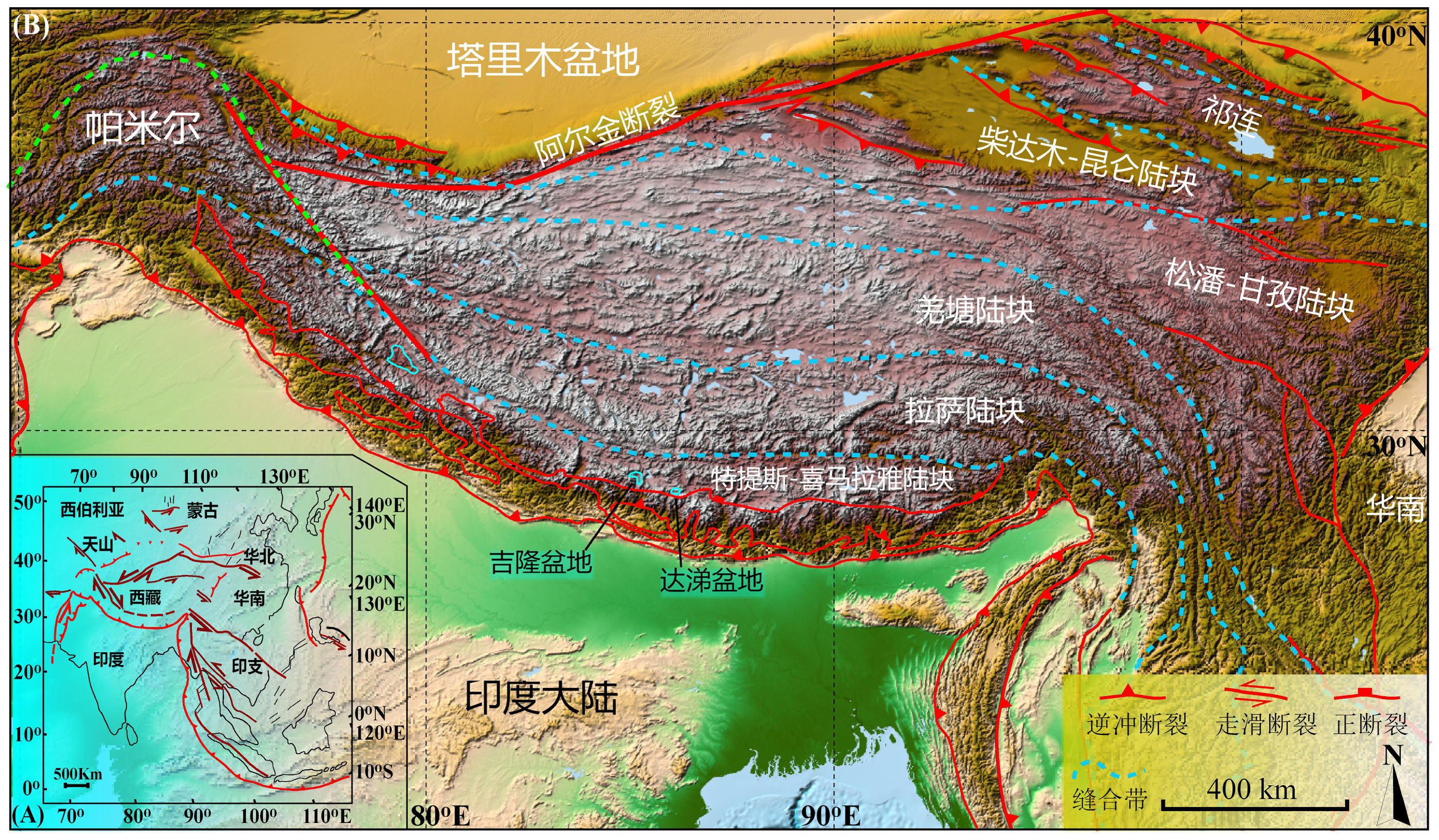 Geological records and photograph dataset of the Jilong-Oma and Dati Basins During the field investigation over Southern Tibetan Plateau