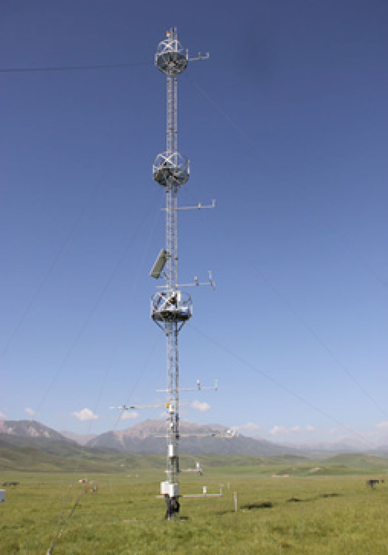 HiWATER: Dataset of hydrometeorological observation network (an observation system of Meteorological elements gradient of A'rou Superstation, 2016)