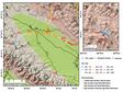 Active layer thickness in the Qilian Mountains (2011-2014)