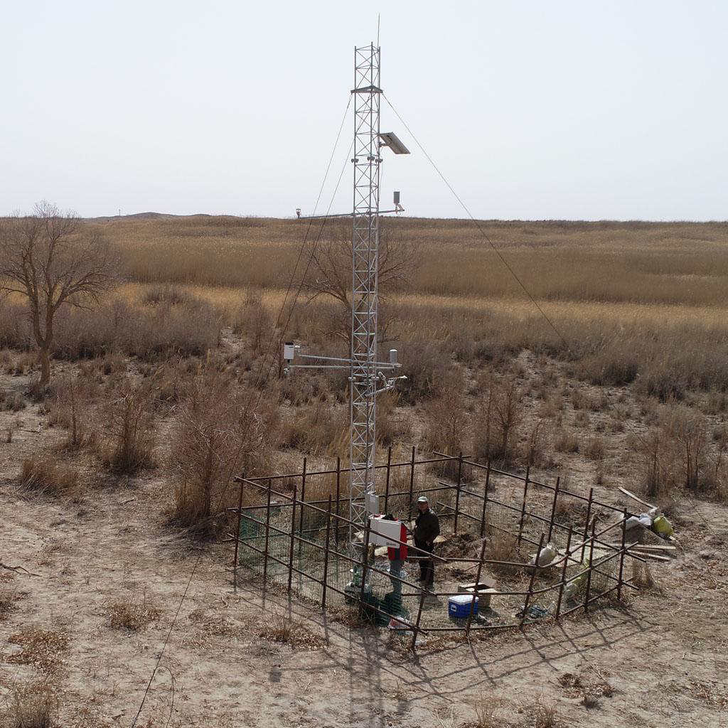 Qilian Mountains integrated observatory network: cold and arid research network of Lanzhou university (an observation system of meteorological elements gradient of Dunhuang Station, 2018)