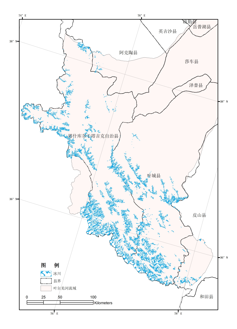 The second glacier inventory dataset of Ganges Rivers, China (Version 1.0) (2009)