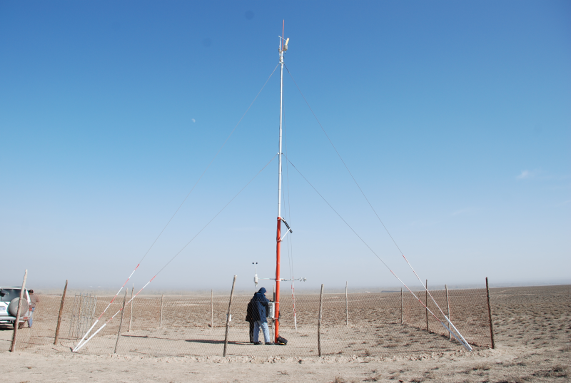 WATER: Dataset of automatic meteorological observations at the Huazhaizi desert station (2008-2011)