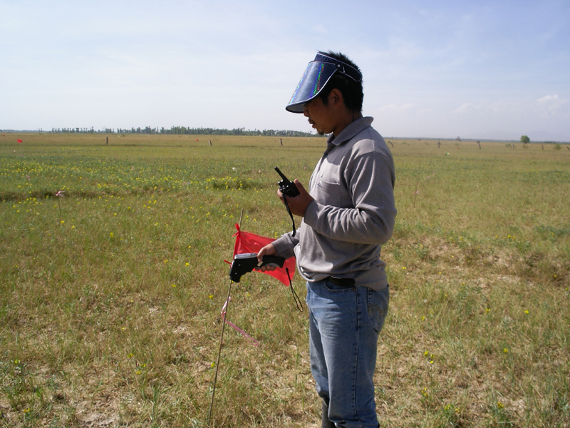 WATER: Dataset of ground truth measurements synchronizing with the airborne imaging spectrometer (OMIS-II) mission in the Linze grassland foci experimental area on Jun. 6, 2008