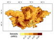 A dataset of NDVI vulnerability of vegetation affected by drought in Central Asia (1982-2015)