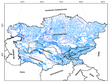Data of Water Resources Distribution in Central Asia
