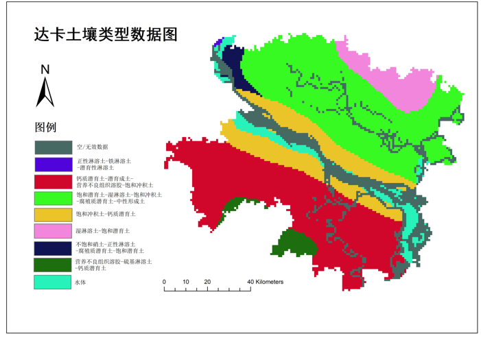 Soil mapping and attribution dataset of all key nodes area in the Belt and Road (2019)
