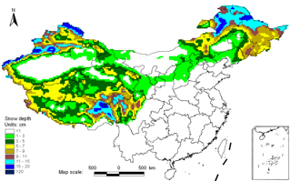 Long-term snow depth dataset of China (1978-2012)