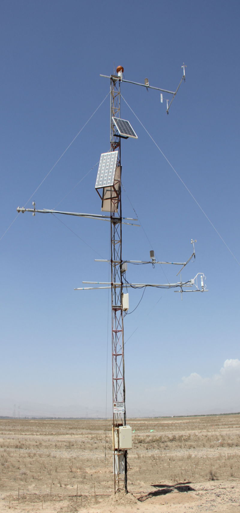 HiWATER: Dataset of hydrometeorological observation network (automatic weather station of Bajitan Gobi desert station, 2013)