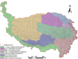 Regulatory division map for ecological protection and agriculture and animal husbandry on the Tibetan Plateau (2018)