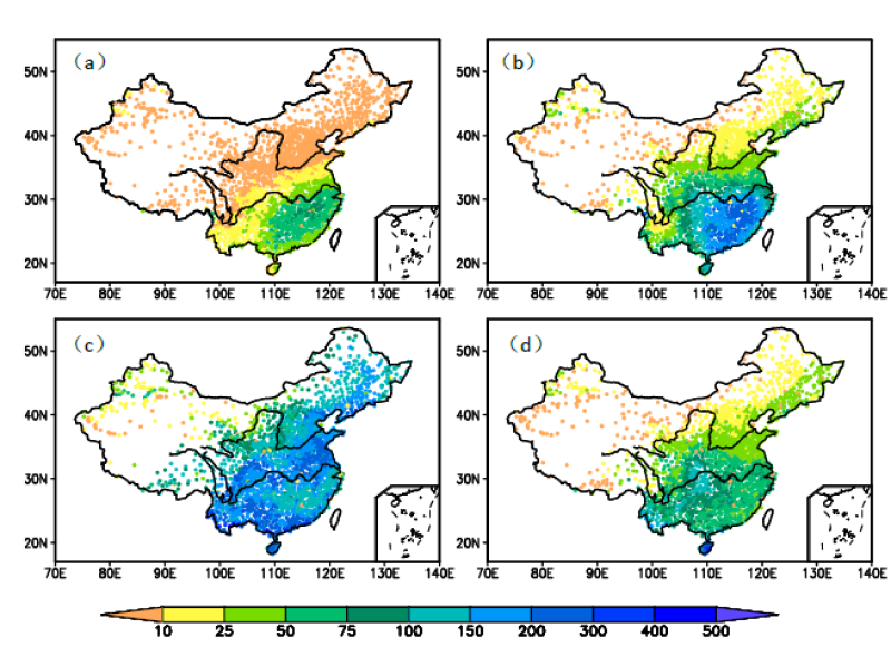 Dataset of gridded daily precipitation in China (Version 2.0) (1961-2013)