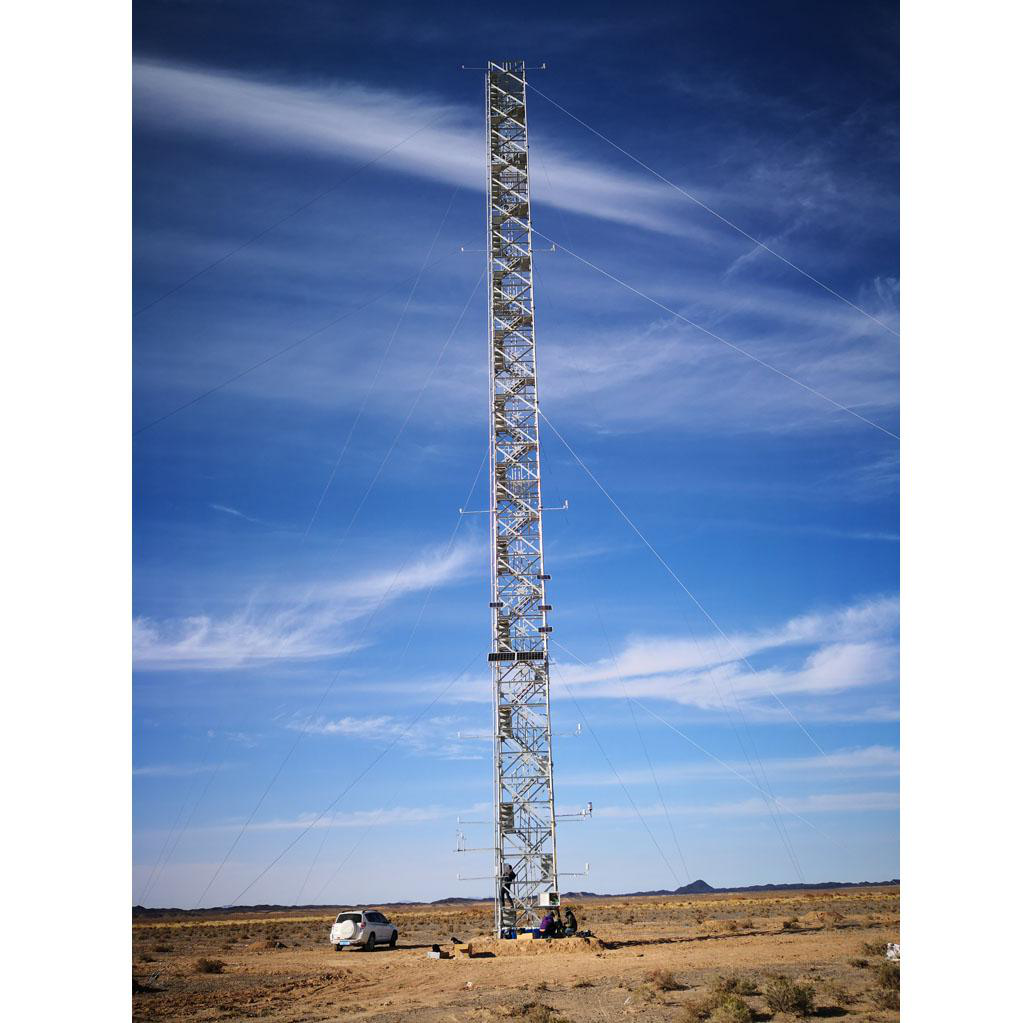 Qilian Mountains integrated observatory network: cold and arid research network of Lanzhou university (eddy covariance system of Guazhou station, 2018)
