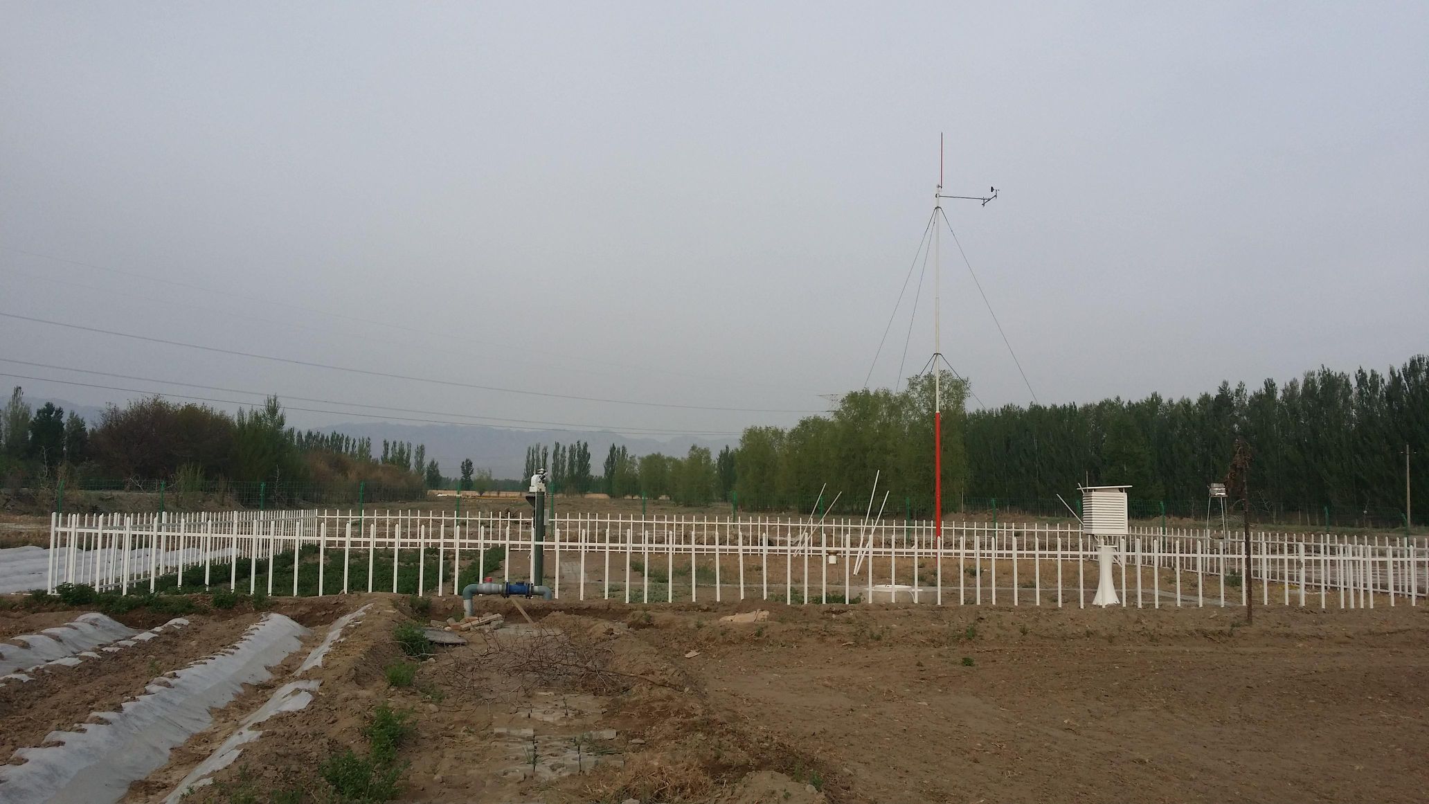 Qilian Mountains integrated observatory network: Dataset of the Heihe River Basin integrated observatory network (automatic weather station of Heihe remote sensing station, 2018)