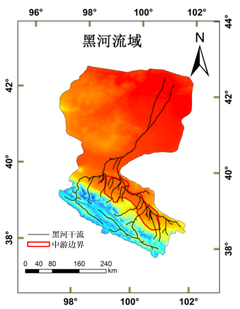 Monthly groundwater table depth, soil moisture, evapotranspiration dataset with high spatial resolution over the Heihe River Basin (1981-2013)