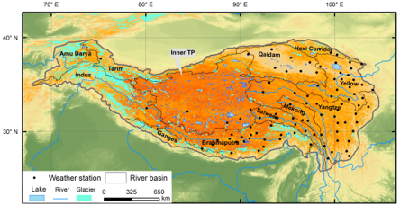 The lakes larger than 1k㎡ in Tibetan Plateau (V2.0) (1970s-2018)