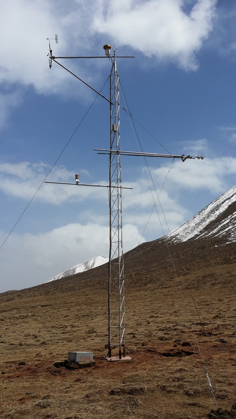 HiWATER: Dataset of hydrometeorological observation network (automatic weather station of A'rou shady slope station, 2014)