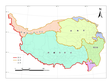 Administrative boundaries data at 1:1000 000 scale over the Tibetan Plateau (2017)