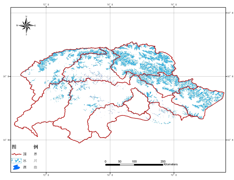 Inventory of glacial lakes in Pakistan (2003-2004)