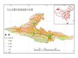 Primary road network dataset of north slope of Tianshan River Basin (2000)