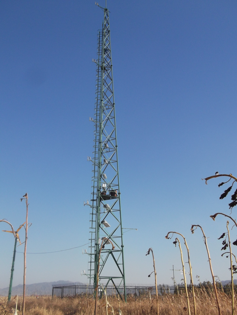 Multi-scale surface flux and meteorological elements observation dataset in the Hai River Basin (Huailai station-automatic weather station-40m tower, 2016)