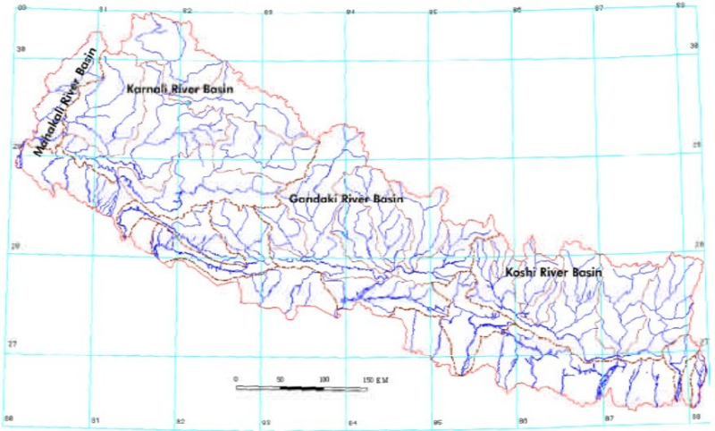 Inventory of glacial lakes in Nepal (2000)