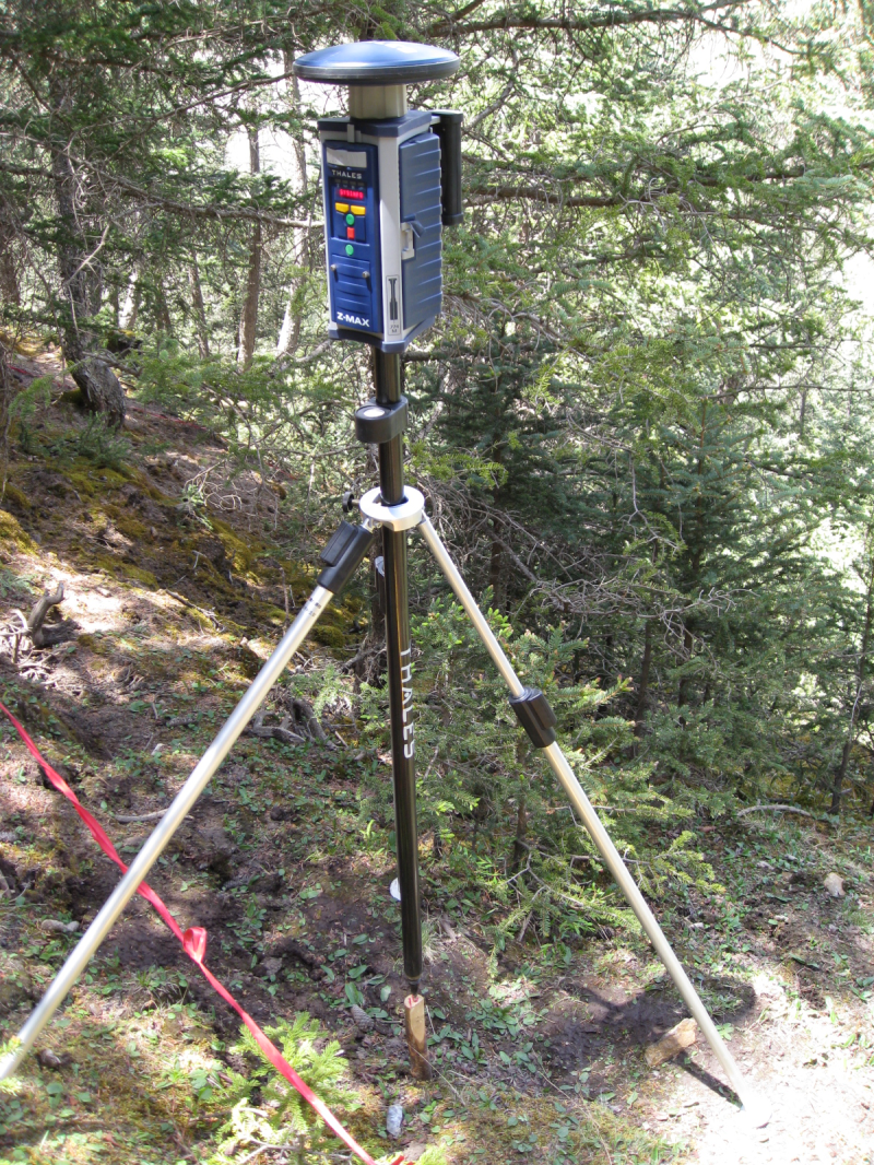 WATER: Dataset of differential global position system (DGPS) measurements at the super site around the Dayekou Guantan forest station (2008)