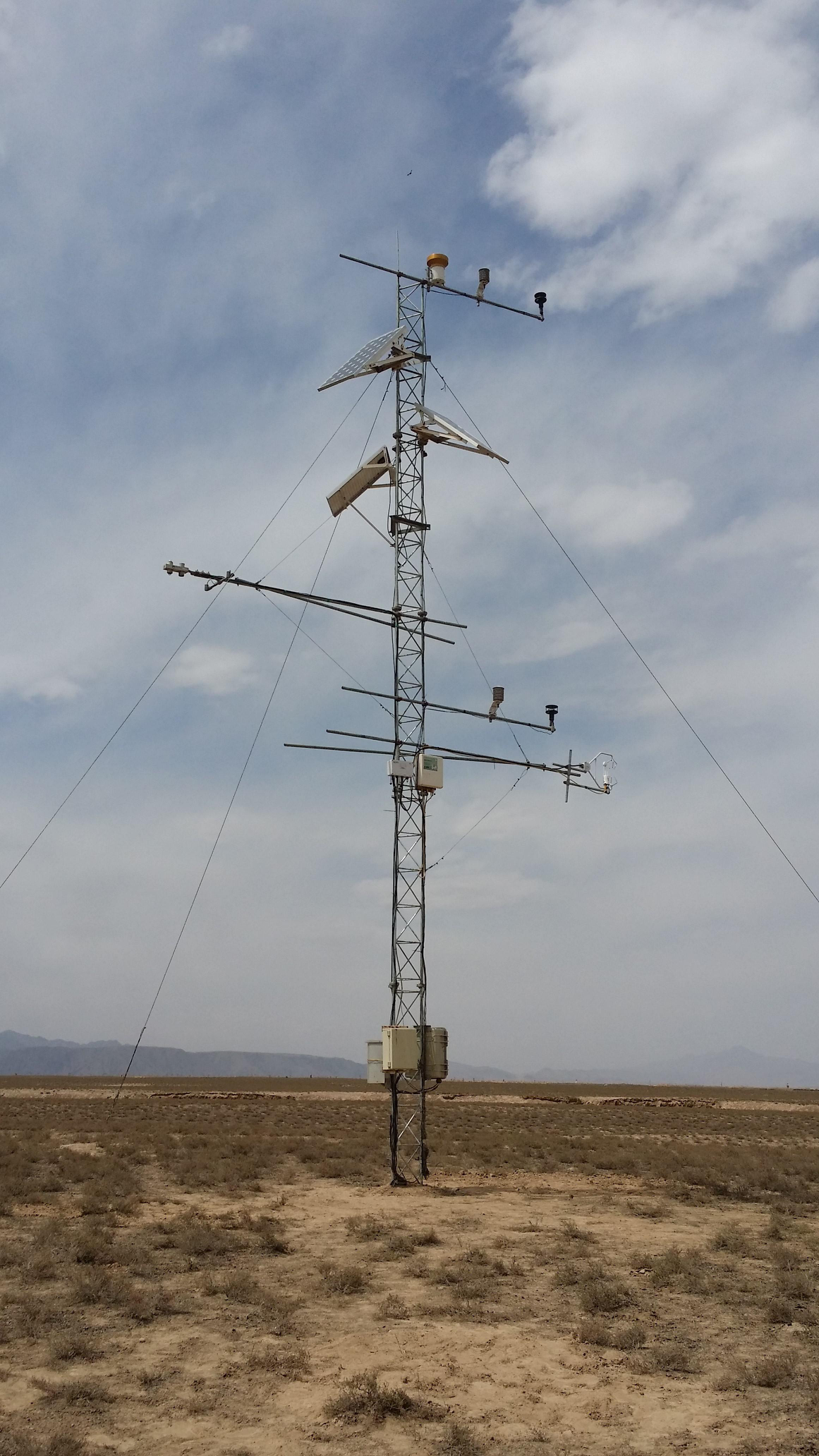 Qilian Mountains integrated observatory network: Dataset of Heihe integrated observatory network (eddy covariance system of Huazhaizi station, 2018)