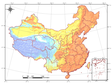 SRTM DEM dataset in China (2000)