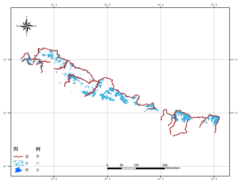 Glacier inventory dataset of Nepal (2000)