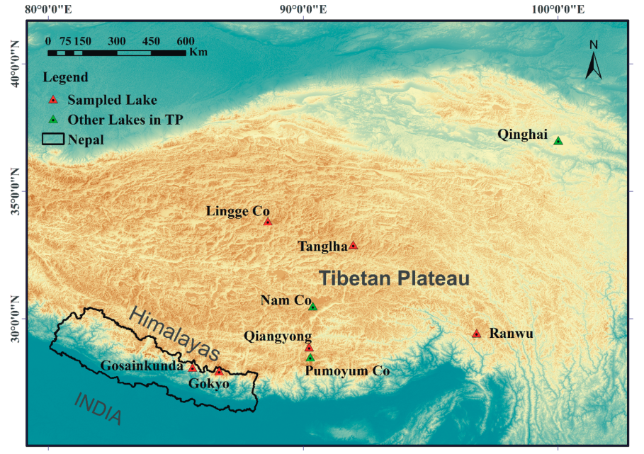 Dataset of historical black carbon reconstruction from the lake sediments of the Himalayan-Tibetan Plateau (1853-2015)