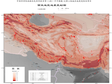 Seismic Zonation Map of Western Asia (1960-2019)