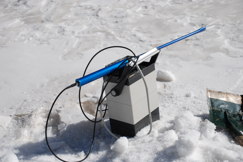WATER: Dataset of snow properties measured by the Snowfork in the Binggou watershed foci experimental area during the pre-observation period on Dec, 2007