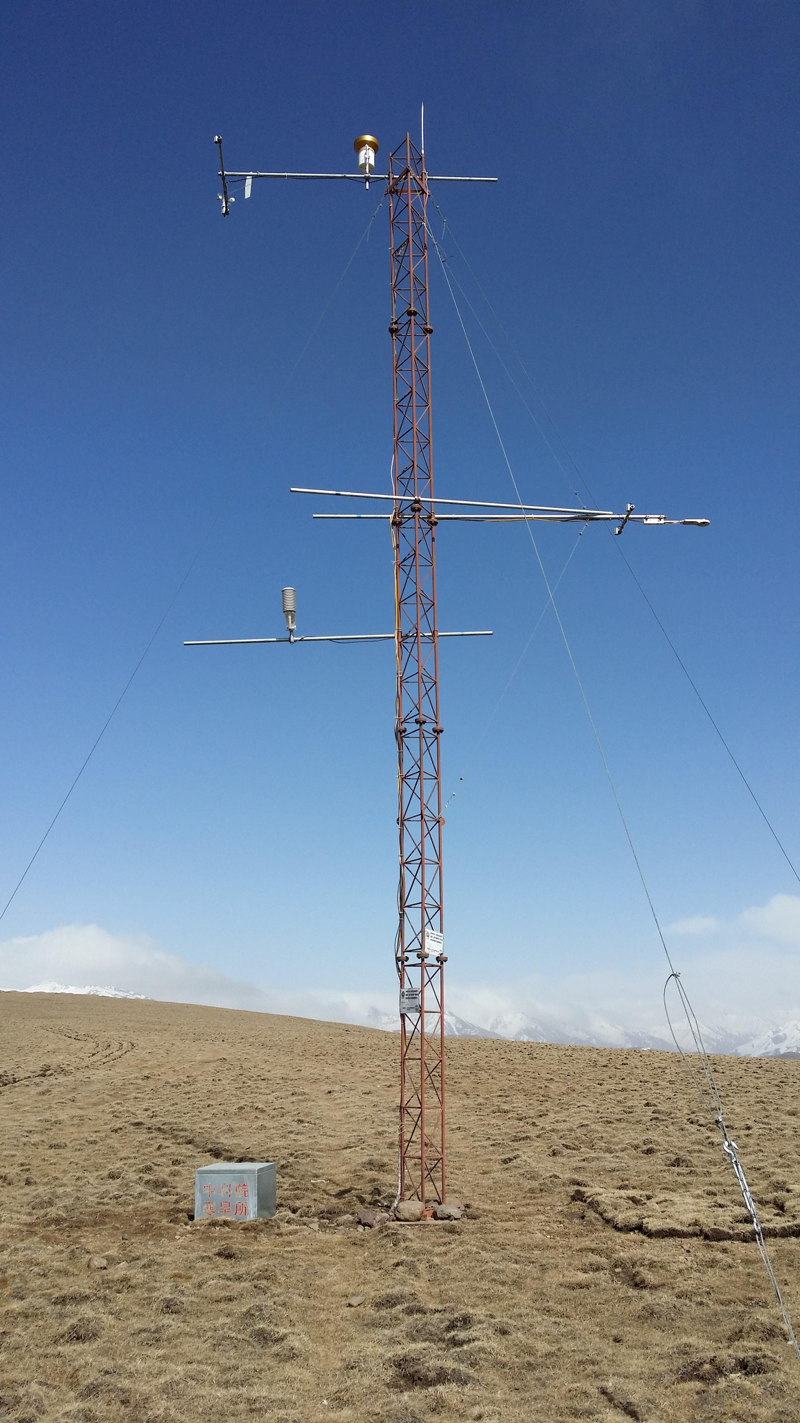 Qilian Mountains integrated observatory network: Dataset of the Heihe River Basin integrated observatory network (automatic weather station of Jingyangling station, 2018)
