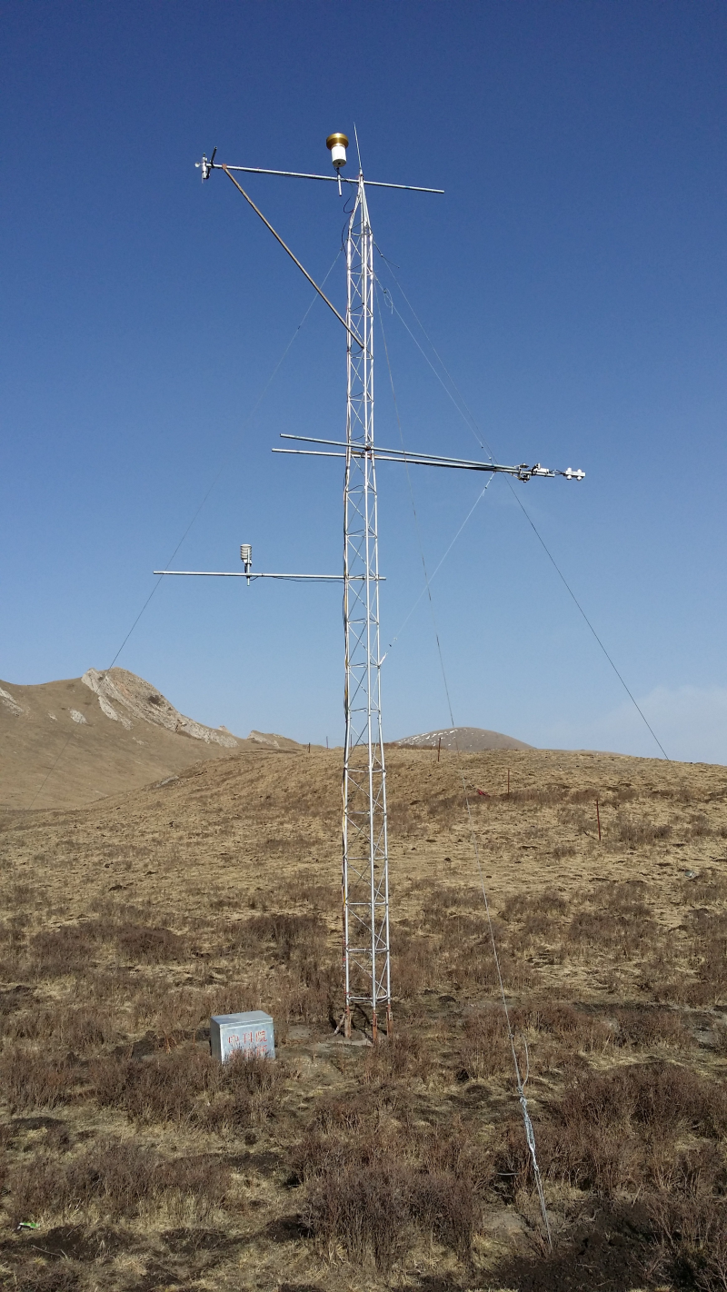 HiWATER: Dataset of Hydrometeorological observation network (automatic weather station of A'rou sunny slope station, 2014)