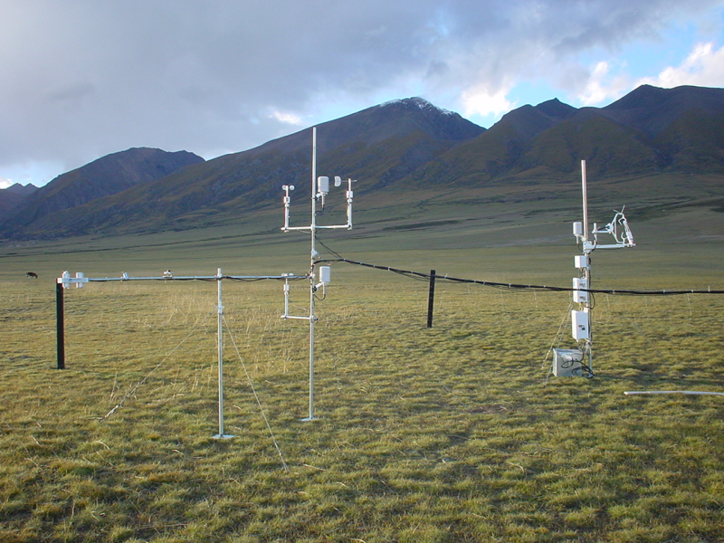 The observation dataset of the Dangxiong Wetland ecosystem on the Tibetan Plateau (2009-2010)