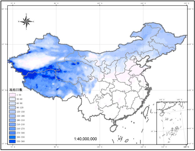 China long-sequence surface freeze-thaw dataset——decision tree algorithm (1987-2009)