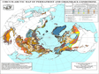 Circum-Arctic map of permafrost and ground ice conditions (v2) (1997)