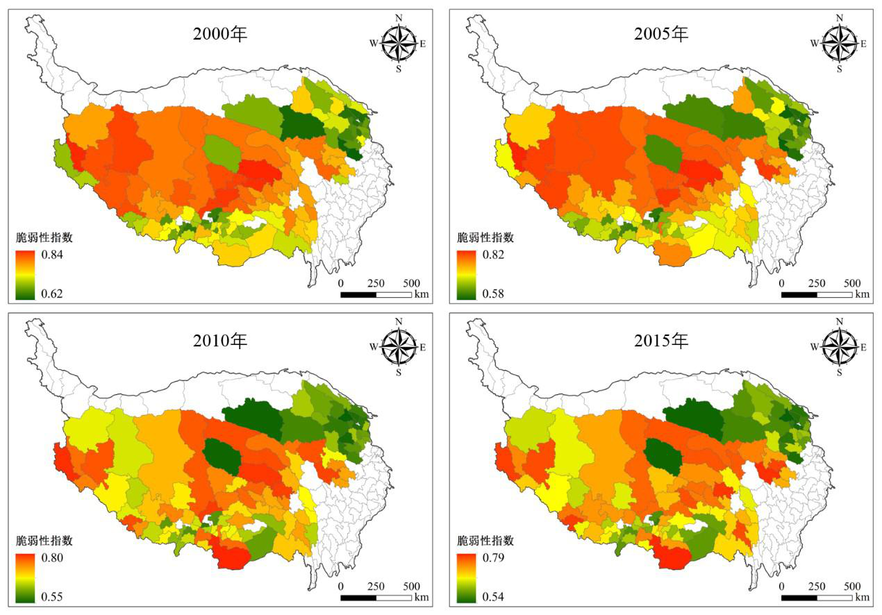 Data set of socio-economic vulnerability parameters in agricultural and pastoral areas of Qinghai Tibet Plateau (2000-2015)