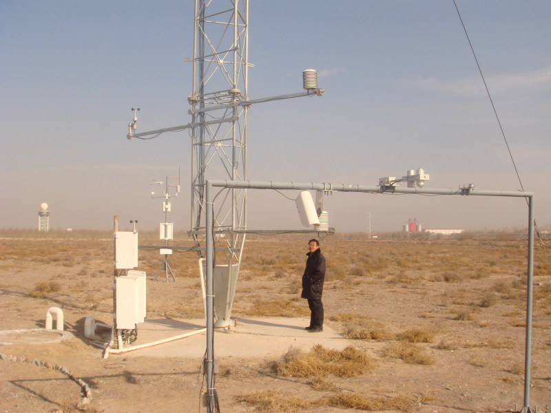WATER: Dataset of eddy covariance observations at the national observatory on climatology at Zhangye (2008-2009)