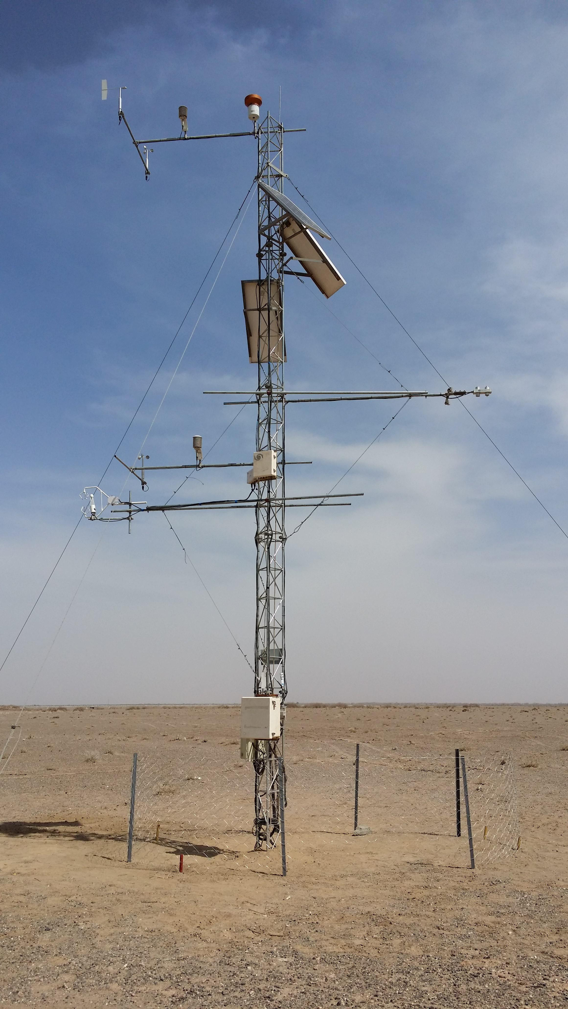 Qilian Mountains integrated observatory network: Dataset of Heihe integrated observatory network (automatic weather station of desert station, 2018)