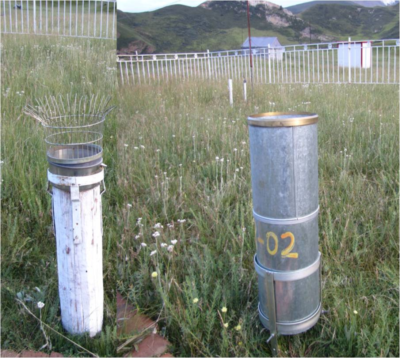 Evaporation and precipitation dataset in Hulugou outlet  in Upstream of Heihe River (2011)