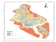 Spatial distribution data set of extreme precipitation vulnerability in Yangon deepwater port area (2019)