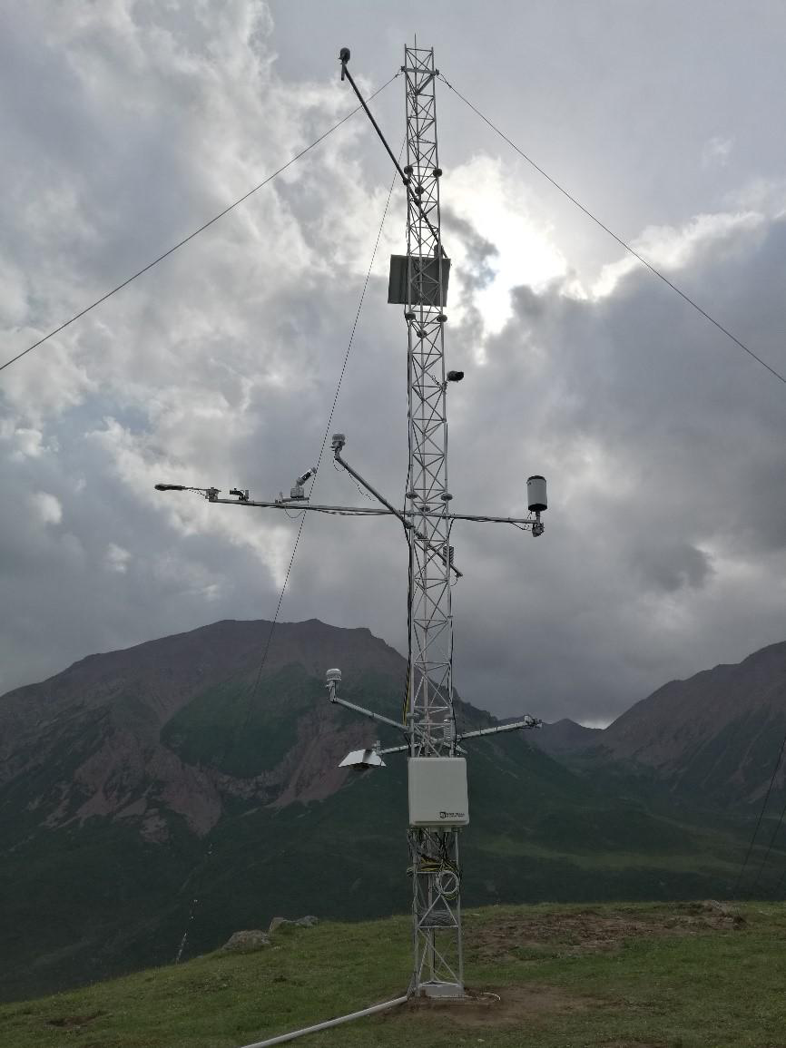 Cold and Arid Research Network of Lanzhou university (eddy covariance system of Xiyinghe station, 2019)