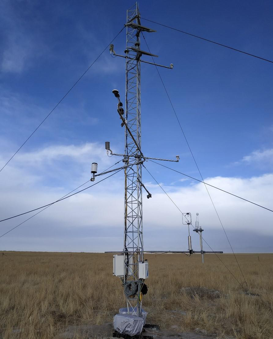 Cold and Arid Research Network of Lanzhou university (eddy covariance system of Suganhu station, 2019)