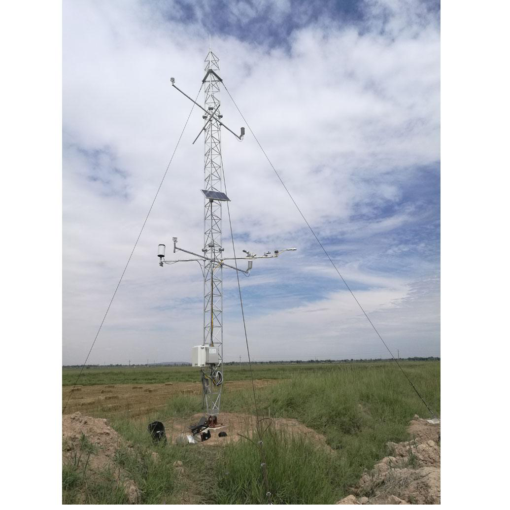 Qilian Mountains integrated observatory network: cold and arid research network of Lanzhou university (an observation system of meteorological elements gradient of Linze station, 2018)