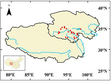 Spatial distribution data set of persistent organic pollutants in main ecosystems of three river source regions (2018)