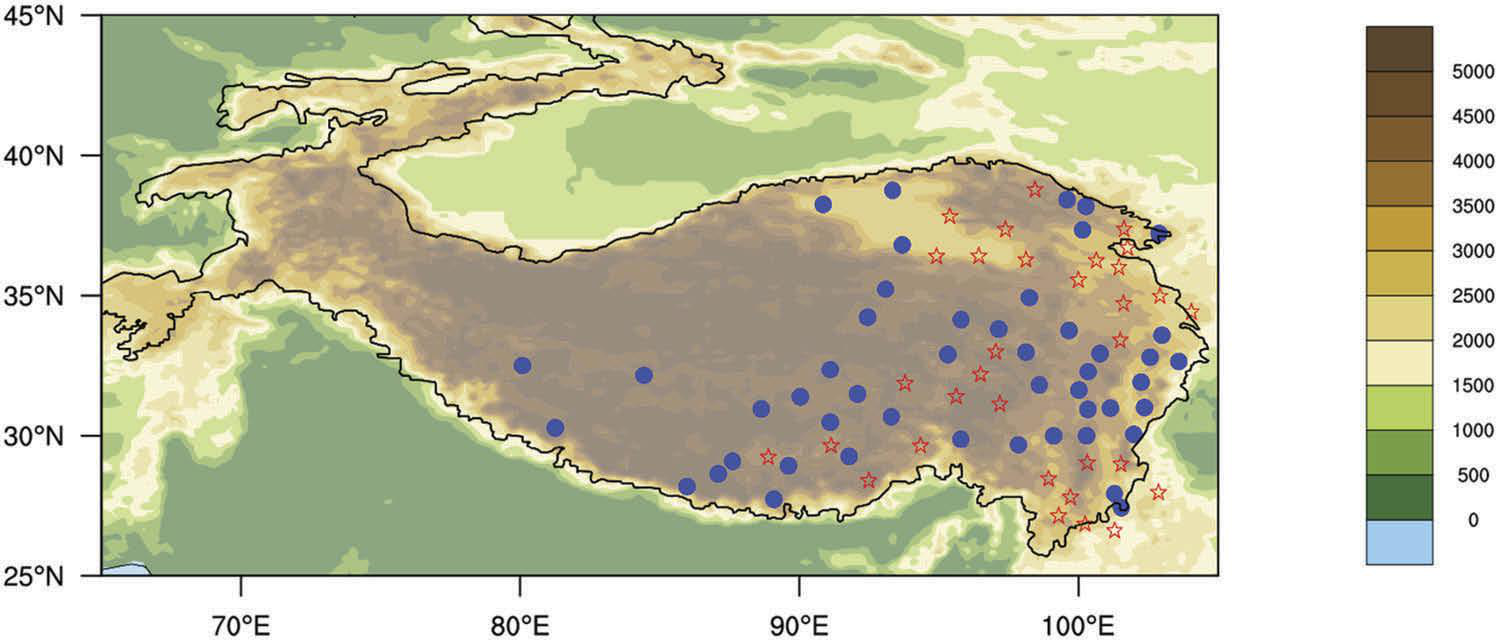 Atmospheric heat source/sink dataset over the Tibetan Plateau based on satellite and routine meteorological observations (1984-2015)