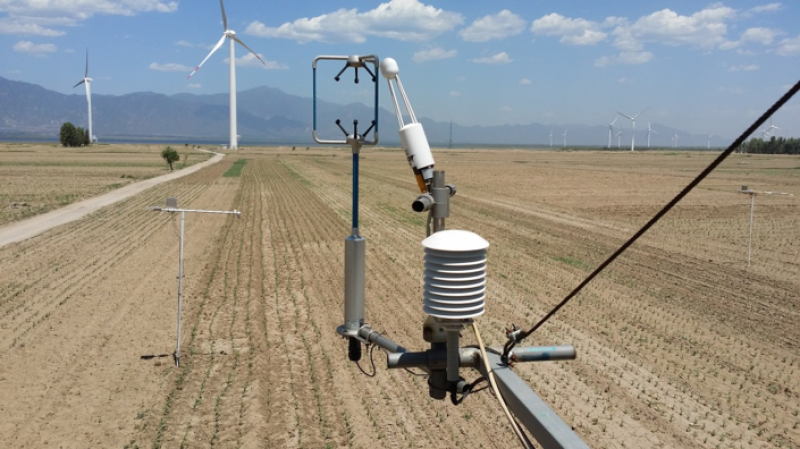 Multi-scale surface flux and meteorological elements observation dataset in the Hai River Basin (Huailai station-eddy covariance system-10m tower, 2013)